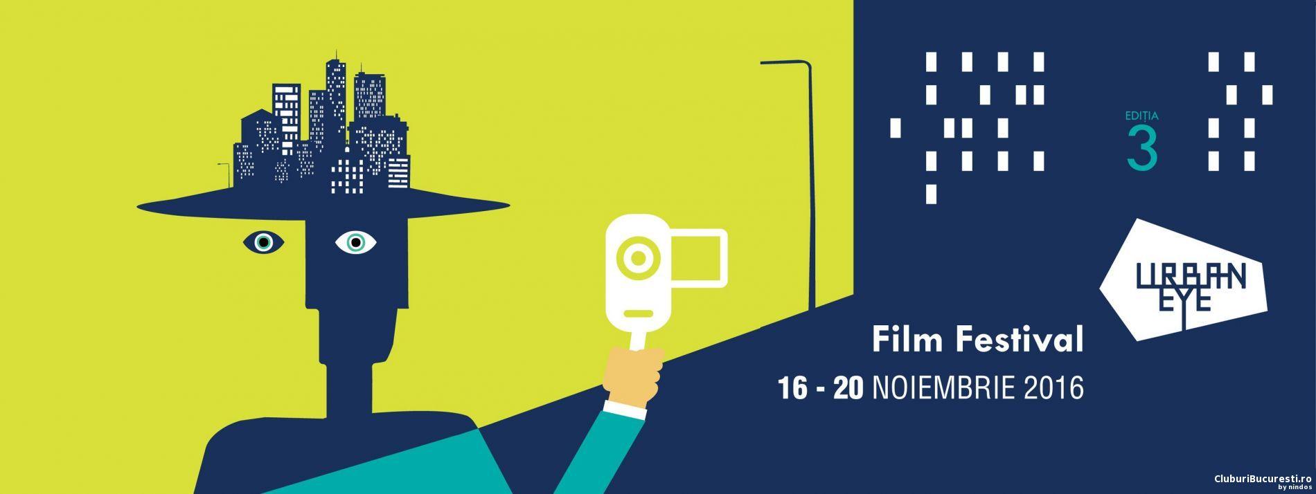UrbanEye Film Festival la cea de-a treia ediție