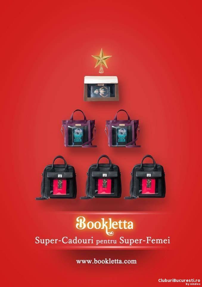 Bookletta, geanta pentru carte