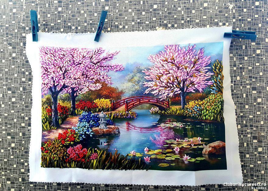 Picturi cu ac si ata