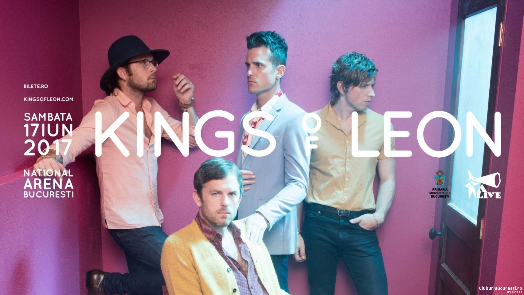 Kings of Leon in concert la Bucuresti