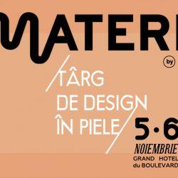 Prima editie Materia - targ de design in piele