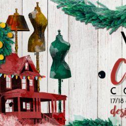 V for Vintage Christmas Concept