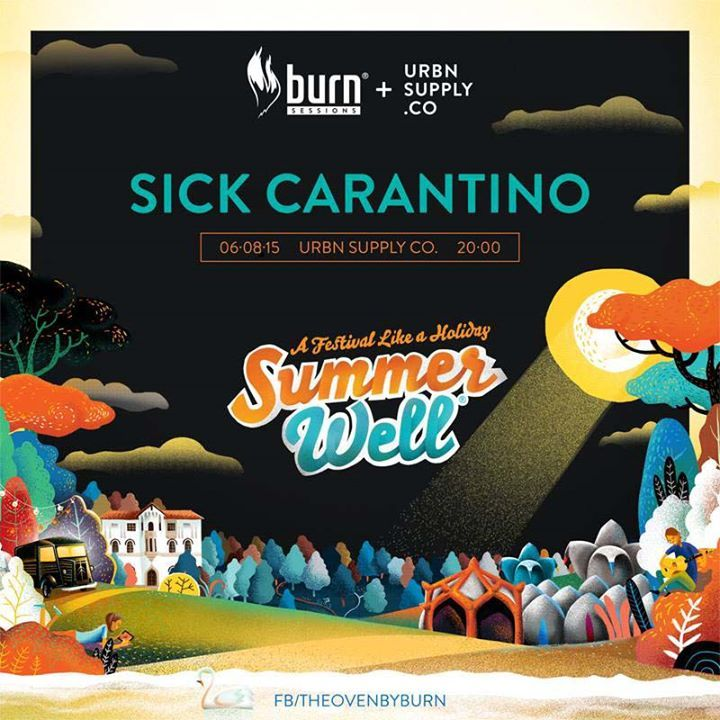 BURNxURBN Sessions - SUMMER WELL FESTIVAL Warm-UP