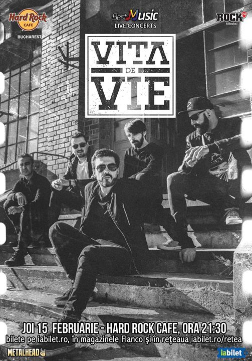 Vița de Vie, electric, 15 februarie, Hard Rock Cafe