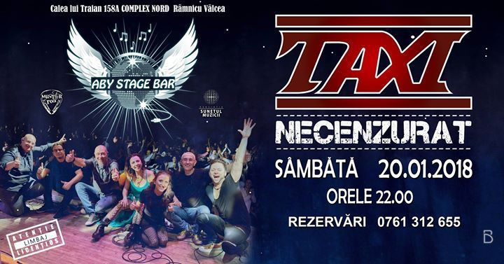 Concert Taxi *Necenzurat* - ABY STAGE BAR