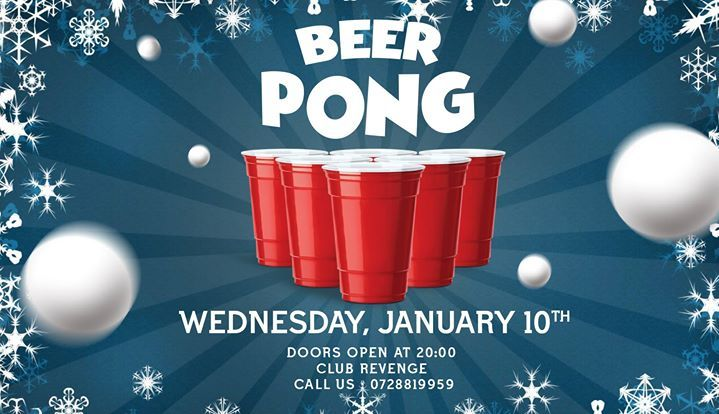 Beer Pong Party at Revenge #10