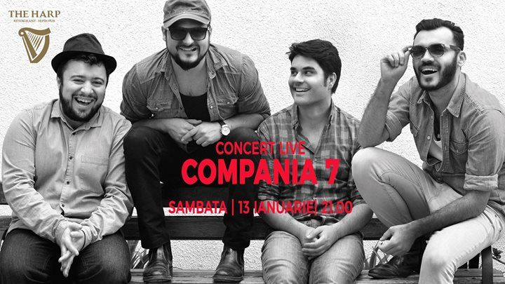 Compania 7 LIVE la The Harp Irish Pub