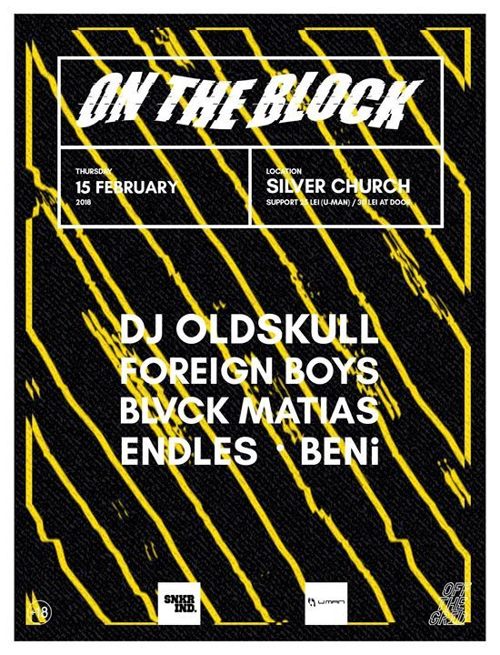 On The Block IX @SilverChurch / 15.02.2018