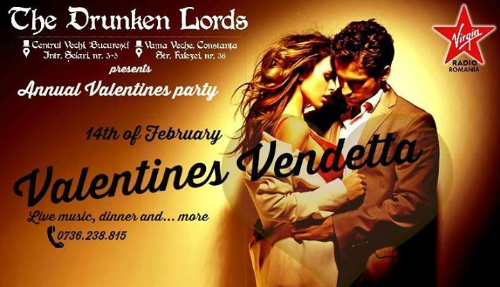 Valentines Vendetta/Live music, dinner and more