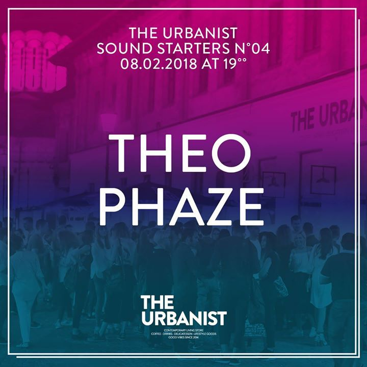 The Urbanist Party Starters N.4 - Theo & Phaze