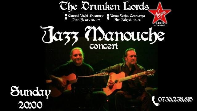 Jazz Manouche concert on Sunday
