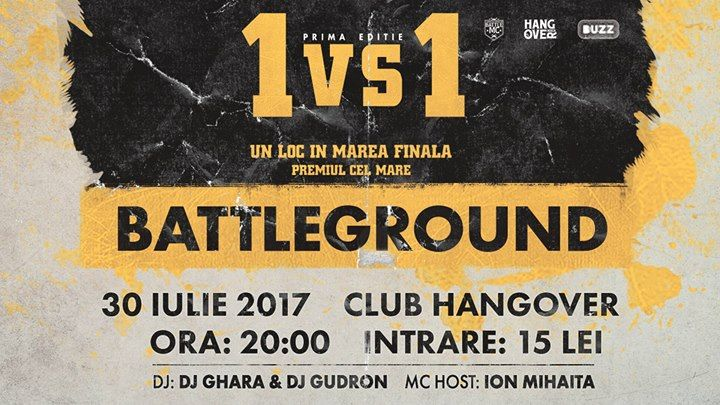 Battle MC Romania: BattleGround - July 30