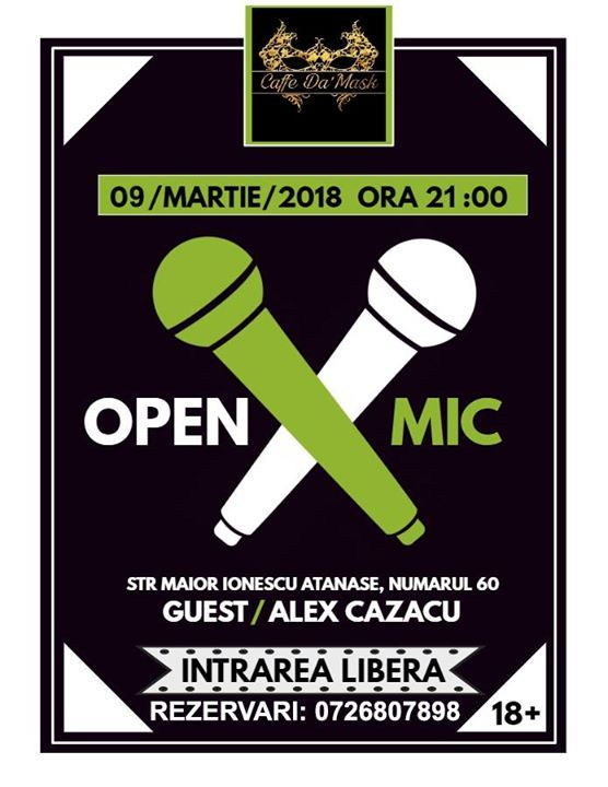 Stand-Up OPEN MIC Editia 2.0