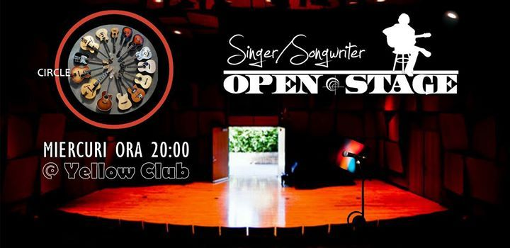 Singer songwriter open stage 04.04.18