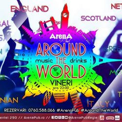 Around The World Music & Drinks Party @ArenaPubRegie