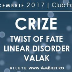 Crize//Twist of Fate//Linear Disorder//Valak
