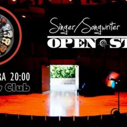 Singer songwriter open stage 10.01.18