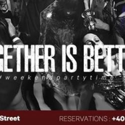 Together is better * Old Habits * Weekend party time