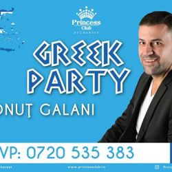 Greek Party - Ionuţ Galani | Princess Club
