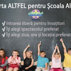 Școala Altfel la Hollywood Multiplex