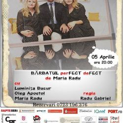"Comedia ""Bărbatul perfect defect"""