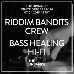 The Urbanist Milk Crate Diggers No. 34 / Riddim Bandits Crew