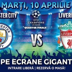 Manchester City vs. Liverpool - Sferturi Champions League