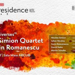 Artist in Residence: Nicolas Simion Quartet feat Sorin Romanescu