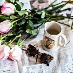 One Sunday morning bring me roses totally out of t... One Sunday morning bring me roses totally out of the blueSit with me and drink teaTell me about your dayEverything goodEverything bad Hold my handLet the tea do the magic