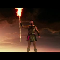 This is Sparta!!!<br /> <br /> Oh no...It`s much better! It`s Gods of Egypt :)
