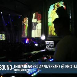 MoonSound @ Teddy Bear 3 Years Anniversary @ Kristal Club 4.12.2015