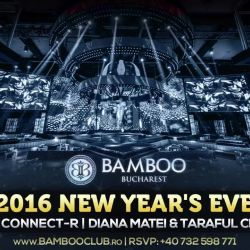 We`re gonna shake things up a little bit at this party! ;)<br /> <br /> NEW YEAR`S EVE PARTY 2016 @ Bamboo Club Bucuresti! <br /> See you then! <3<br /> <br /> RSVP: +40 732 598 771 | www.bambooclub.ro<br /> Dress code: black tie