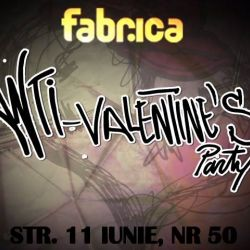 ANTI-VALENTINE`S PARTY - 13 februarie @ club Fabri...