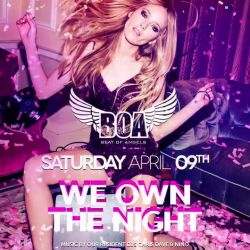 On Saturday night it`s time to live bigger!!! #WeOwnTheNight <br /> Music by our residents Chris & Nino