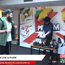 Smiley e LIVE la ProFM!