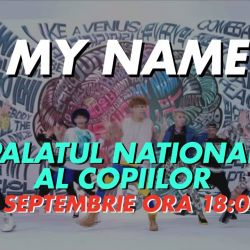 MYNAME for the first time in Romania!<br /> 2016 MYNAME Euro Tour - MYNAME with MYGIRL<br /> <br />  Date:<br /> September 4th, 2016 - Bucharest, Romania<br /> <br />  Venue:<br /> Palatul National al Copiilor<br /> <br />  Tickets:<br /> VIP ticket
