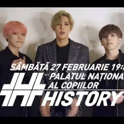 HISTORY for the first time in Romania!<br /> 히스토리 - History EUROPE LIVE TOUR 2016<br /> <br />  Date:<br /> February 27, 2016 - Bucharest, Romania<br /> <br />  Venue:<br /> Palatul National al Copiilor Bucuresti<br /> <br />  Tickets:<br /> http://w