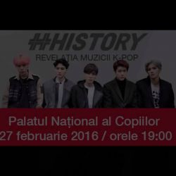 HISTORY for the first time in Romania!<br /> <br />  Date:<br /> February 27, 2016<br /> <br />  Venue:<br /> Palatul National al Copiilor Bucuresti<br /> National Children`s Palace Bucharest<br /> <br />  Tickets:<br /> http://www.bilete.ro/turneu-h