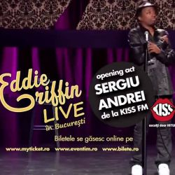 KOMPAS EVENTS ROMANIA proudly present Eddie Griffin: first exclusive show in Romania,