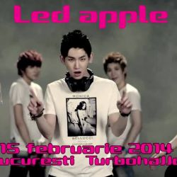 Led Apple in Romania<br /> 15.02.2014<br /> Music Channel Romania