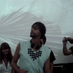 Back in time: Ricardo Villalobos spinning vinyls with youngster Raresh. <br /> <br /> [ Kristal Summer Club - Romania - 18.08.2006 ]