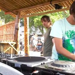 Perfect combination of the sunmer: the beach, the sun and the funky rhythms of Ricardo Villalobos, Thomas Franzmann aka Zip & Fumiya Tanaka @ Berlin Beach Break