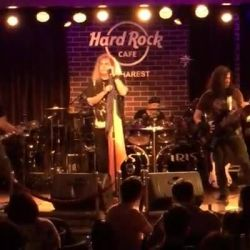 Cristi Minculescu si IRIS Live Hard Rock Cafe Bucharest