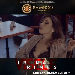 #IrinaRimes at Bamboo`s Christmas party! ;)