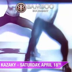 Kazaky Official @ Bamboo Club Bucuresti, on Saturday, April 18th! ;)