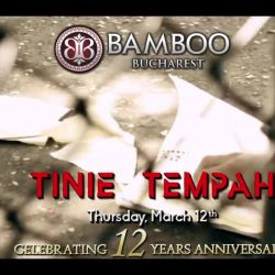 On Thursday, MARCH 12th, we are honoured to have you as guests at the celebration of 12 years of Excellence in Clubbing!<br /> <br /> Performing live for you: TINIE TEMPAH<br /> <br /> Offered to you by Absolut Elyx<br /> <br /> Free entrance<br /> <