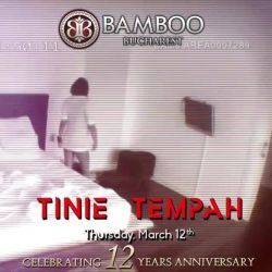 #bamboo #12thanniversary #March12th #TinieTempah #amazingshow #grandparty #freeentrance