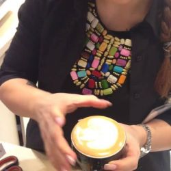Arta intr-o ceasca de cafea @ The Coffee Shop<br /> Latte Art